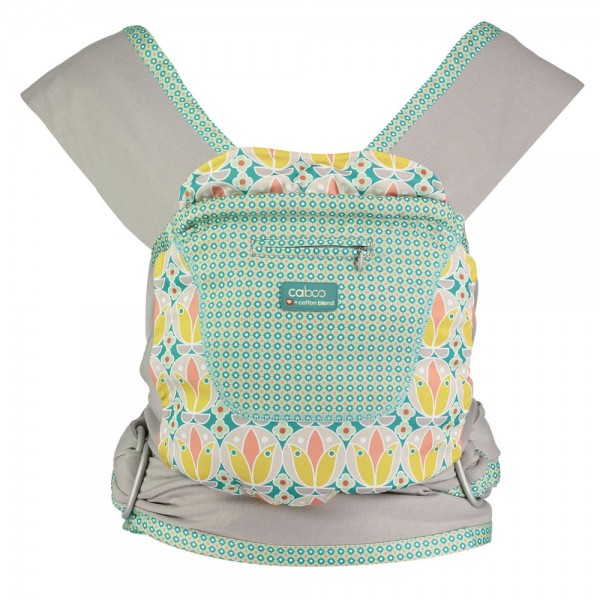 "Caboo Babytrage +Cotton blend - Printed Edition ""Olivia"""