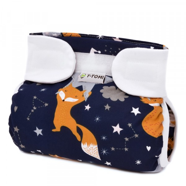 Spreizwindel Night Foxes (5 - 9 kg)