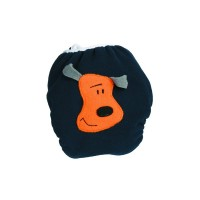 Bum Wrap Fleece-PUL Überhose Crazy Dog