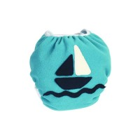 Ellas House Bum Wrap Fleece-PUL Überhose Ocean Ship