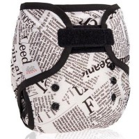 Ellas House Bum Wrap Überhose Newspaper