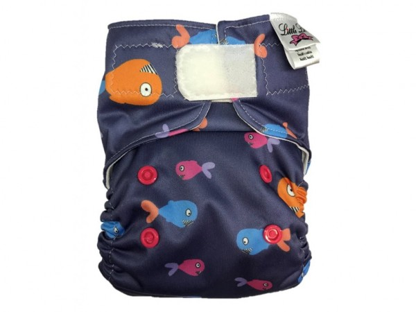 "All in One Stoffwindel SILTEX ""Fische"" (3-15 kg)"